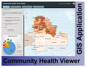 Community Health GIS Data Viewer Application