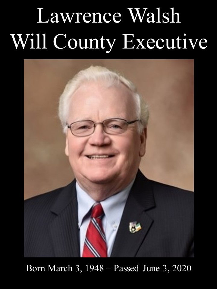 Will County Executive Larry Walsh