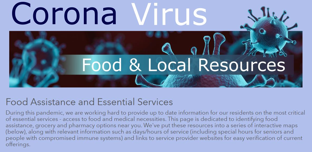 Food Assistance and essential services
